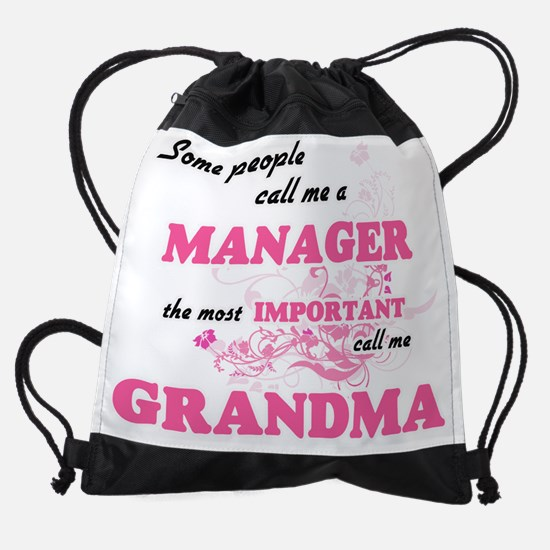 Some call me a Manager, the most im Drawstring Bag