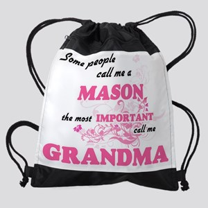 Some call me a Mason, the most impo Drawstring Bag