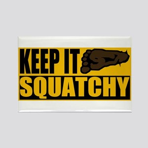 Keep it Squatchy Rectangle Magnet