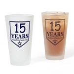 VTF 13 years Drinking Glass
