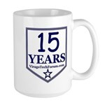 VTF 13 years Large Mug