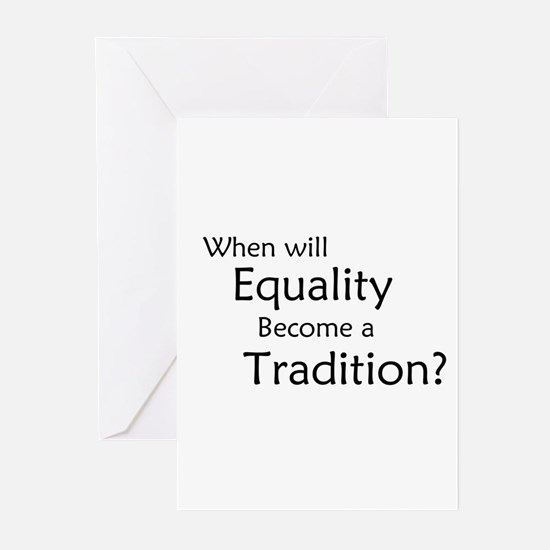 Traditional Equality Greeting Cards (Pk of 10)