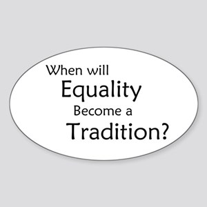 Traditional Equality Sticker