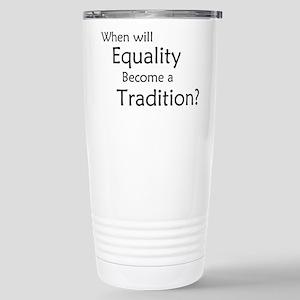 Traditional Equality Travel Mug