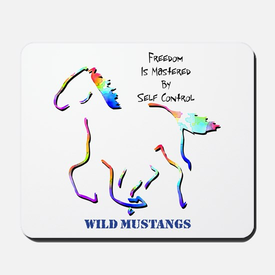 Wild Mustangs Mousepad