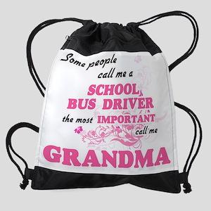 Some call me a School Bus Driver, t Drawstring Bag