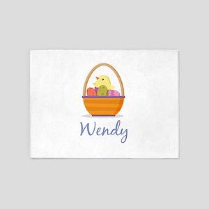 Easter Basket Wendy 5'x7'Area Rug