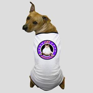CAT POTATO Dog T-Shirt