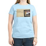 Cherry Tucker's Shops Above Her Raising T-Shirt