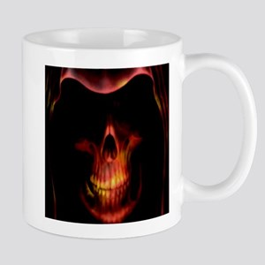 Glowing red grim reaper Mug