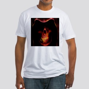 Glowing red grim reaper T-Shirt