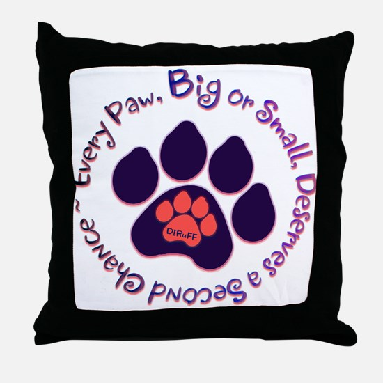 Every Paw Throw Pillow