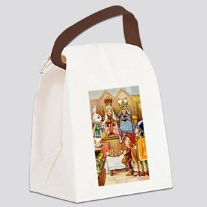 Trial of the Knave of Hearts Canvas Lunch Bag