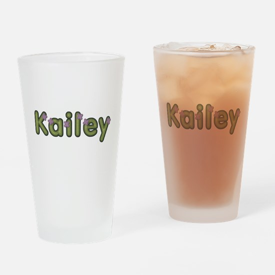Kailey Spring Green Drinking Glass