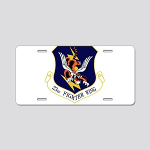 Flying Tigers Aluminum License Plate