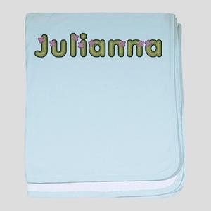 Julianna Spring Green baby blanket