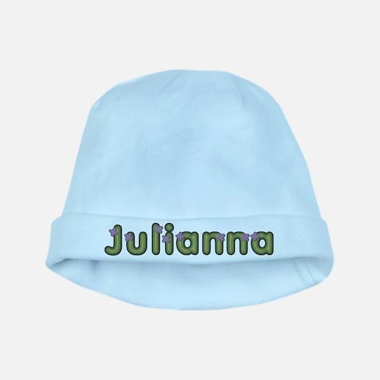 Julianna Spring Green baby hat