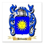 Belluschi Square Car Magnet 3
