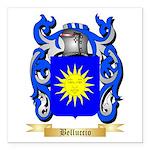 Belluccio Square Car Magnet 3