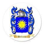 Belluccio Round Car Magnet