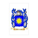 Belluccio Sticker (Rectangle)