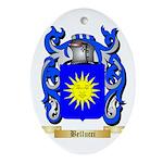 Bellucci Ornament (Oval)
