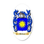 Bellozzi Oval Car Magnet