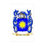Bellotti Sticker (Rectangle 50 pk)