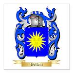 Belloni Square Car Magnet 3