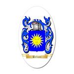 Belloni 35x21 Oval Wall Decal