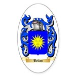 Bellon Sticker (Oval 50 pk)