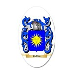 Bellon 35x21 Oval Wall Decal