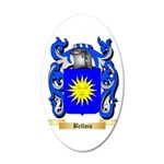 Bellois 20x12 Oval Wall Decal