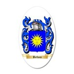 Bellois 35x21 Oval Wall Decal