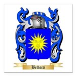 Bellocci Square Car Magnet 3