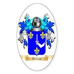Belliss Sticker (Oval 50 pk)