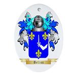 Belliss Ornament (Oval)