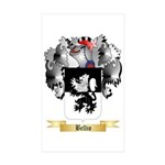 Bellio Sticker (Rectangle 10 pk)