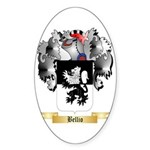 Bellio Sticker (Oval 10 pk)