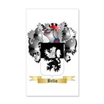 Bellio 35x21 Wall Decal