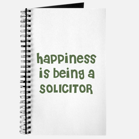 Happiness is being a SOLICITO Journal