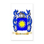 Bellini Rectangle Car Magnet