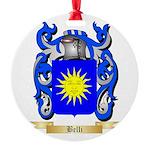 Belli Round Ornament