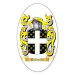 Belleville Sticker (Oval 50 pk)