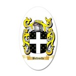 Belleville 20x12 Oval Wall Decal