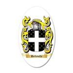 Belleville 35x21 Oval Wall Decal