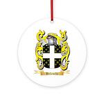 Belleville Ornament (Round)