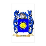 Belletti Sticker (Rectangle 50 pk)