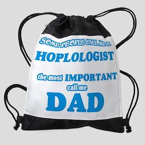 Some call me a Hoplologist, the mos Drawstring Bag
