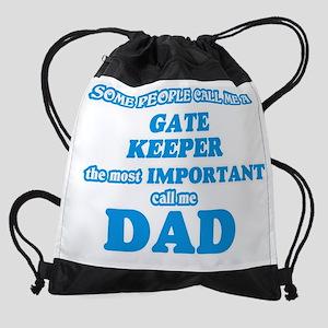 Some call me a Gate Keeper, the mos Drawstring Bag